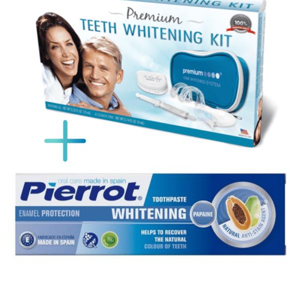zobu balinasanas komplekts un zobupasta